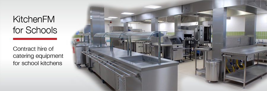 School Catering Equipment Solution with KitchenFM for Schools